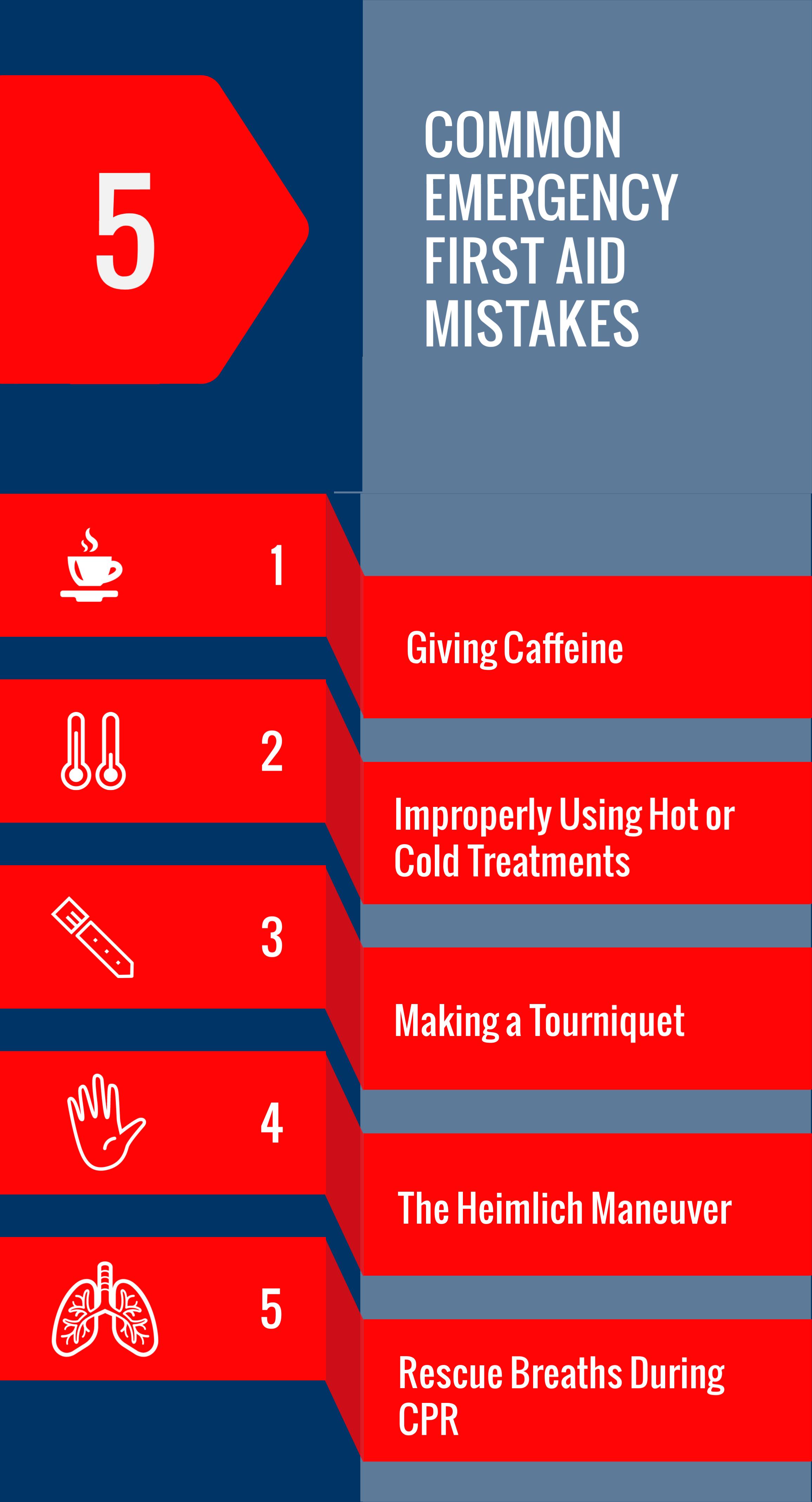 5 Common Emergency First Aid Mistakes, Health Street, LLC, Houston